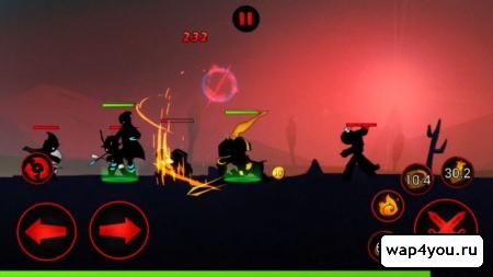 Скриншот League of Stickman
