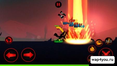 Скриншот League of Stickman на андроид