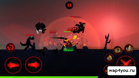 Скриншот League of Stickman для android