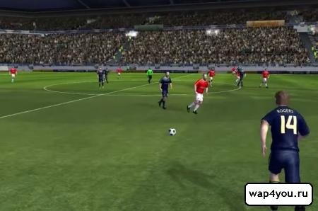 Скриншот Dream League Soccer на андроид