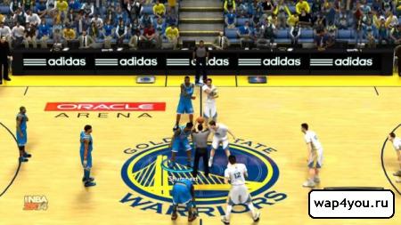 Скриншот игры NBA 2K14