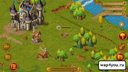 Скриншот Townsmen Premium на андроид