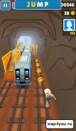 Скриншот Subway Surfers на андроид