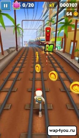 Subway Surfers скриншот игры