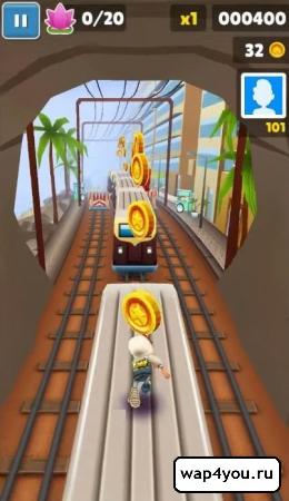Скриншот игры Subway Surfers