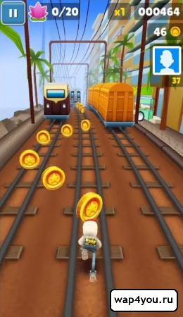 Скриншот Subway Surfers для android