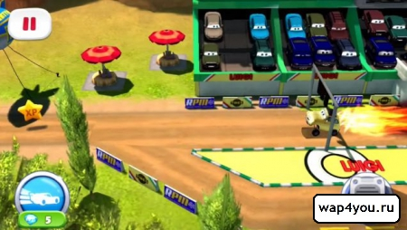 Скриншот игры Тачки Быстрые как Молния