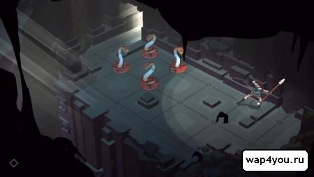 Lara Croft GO скриншот