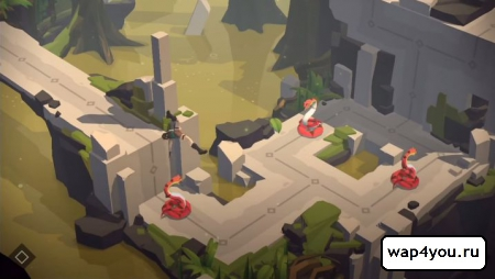 Скриншот Lara Croft GO для Android