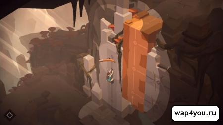 Скриншот Lara Croft GO на Андроид