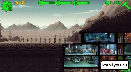 Скриншот Fallout Shelter на Андроид