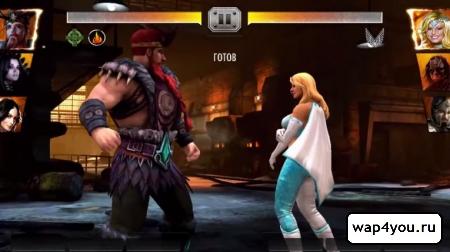 Скриншот игры WWE Immortals