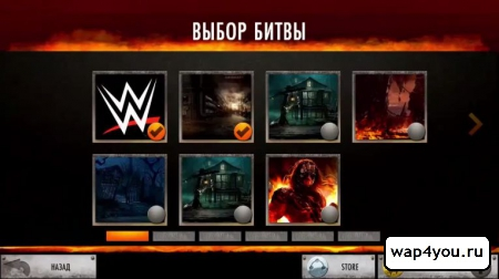 Скриншот WWE Immortals на Андроид