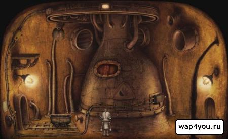Скриншот игры Machinarium