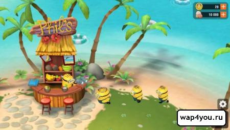 Скриншот Minions Paradise на Андроид