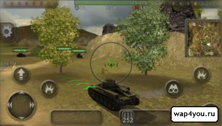 Скриншот Wild Tanks Online на Андроид