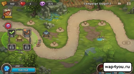 Скриншот Castle Defense 2 на Андроид