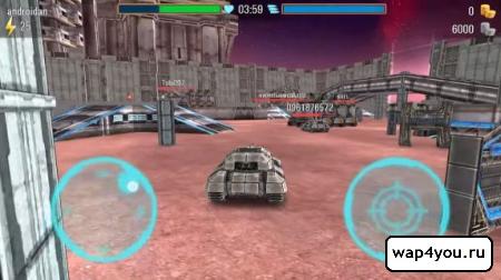 Скриншот игры Iron Tanks