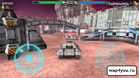 Скриншот Iron Tanks для Android