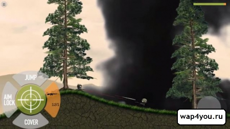 Скриншот Stickman Battlefields для Android