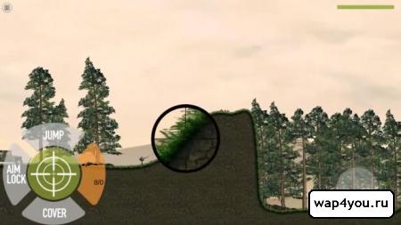 Скриншот игры Stickman Battlefields на Андроид