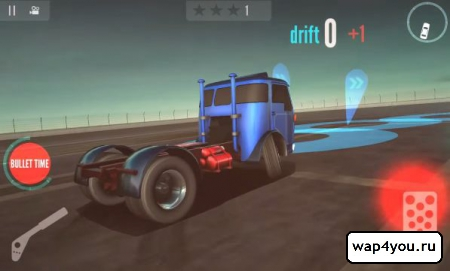 Скриншот Drift Zone: Trucks на Андроид