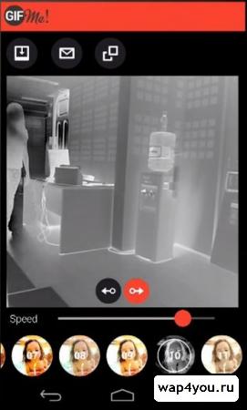 Скриншот Gif Me! Camera для Android