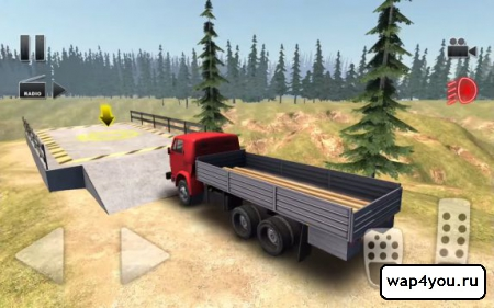 Скриншот Truck Driver Crazy Road для Android