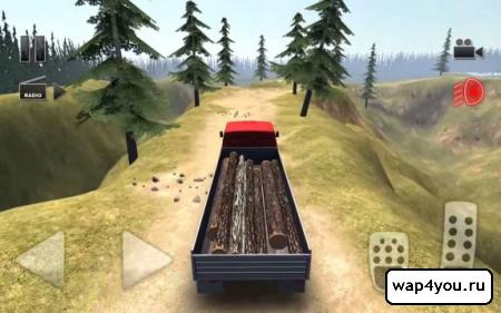 Скриншот игры Truck Driver Crazy Road