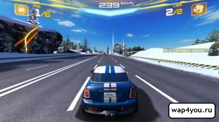 Скриншот Asphalt 7: Heat для Android