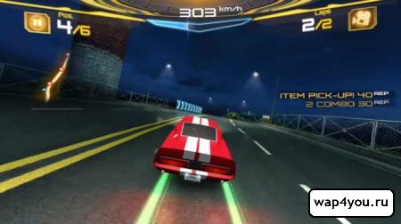 Скриншот игры Asphalt 7: Heat