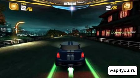 Скриншот игры Асфальт 7 на Андроид