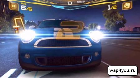 Скриншот Asphalt 7: Heat на Андроид