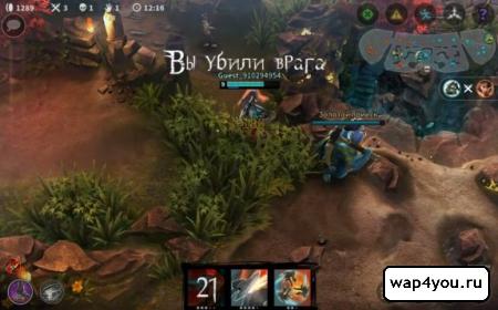 Скриншот игры Vainglory