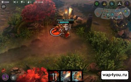 Скриншот Vainglory на Андроид