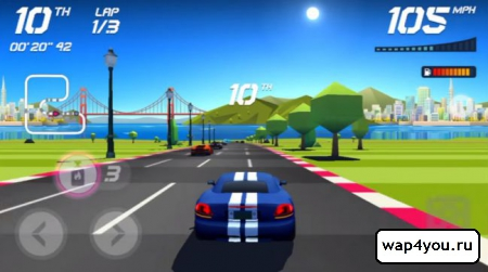 Скриншот Horizon Chase - World Tour для Android