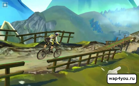 Скриншот Bike Unchained на Андроид