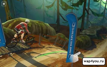 Скриншот Bike Unchained для Android