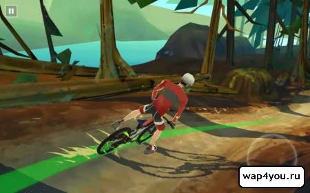 Скриншот игры Bike Unchained
