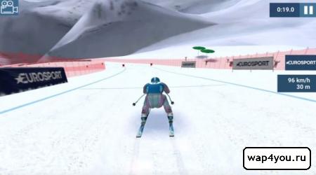 Скриншот Eurosport Ski Challenge 16