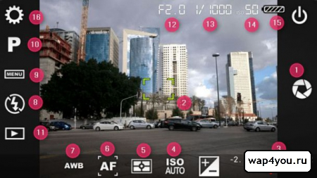 Скриншот Camera FV-5 на Андроид