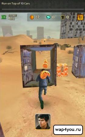 Скриншот игры Бегущий в лабиринте 2