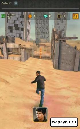 Скриншот Бегущий в лабиринте 2 на Андроид