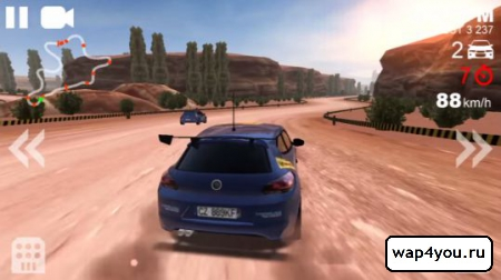 Скриншот Rally Racer Unlocked для Android