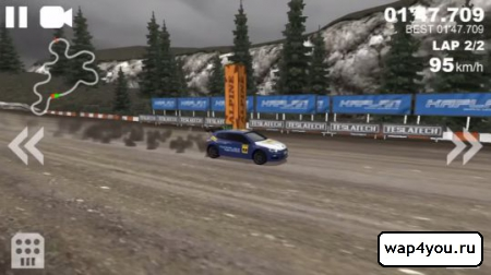 Скриншот Rally Racer Unlocked на Андроид