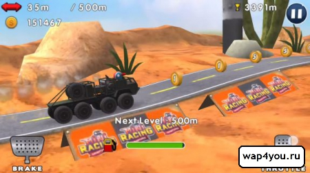 Скриншот Mini Racing Adventures на Андроид