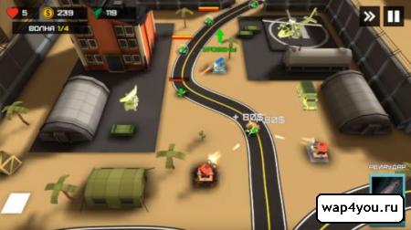 Скриншот Tower Defense Heroes для Android