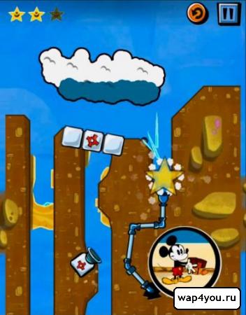 Скриншот игры Где же Микки?