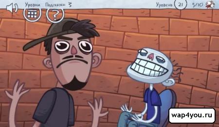 Скриншот TrollFace Quest Video Memes на Андроид