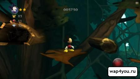 Скриншот игры Castle of Illusion